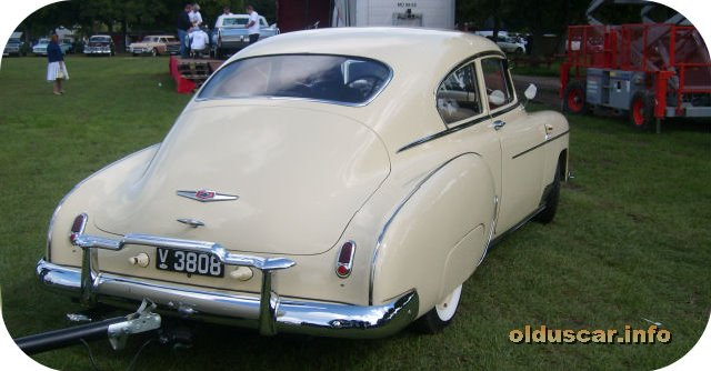 1949 Chevrolet Fleetline Fastback DeLuxe 2d Sedan back