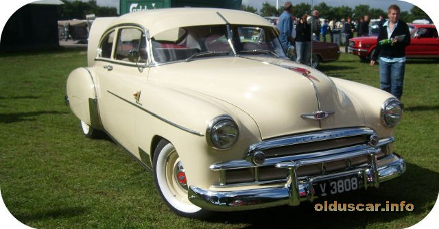 1949 Chevrolet Fleetline Fastback DeLuxe 2d Sedan front