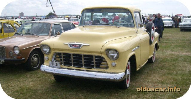 1955 Chevrolet 3100 0.5ton Step-side Pickup front