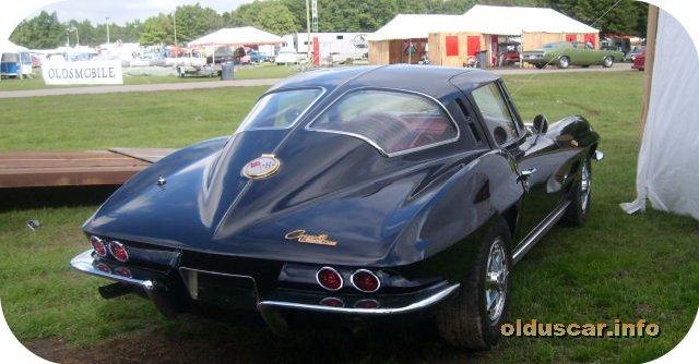 Chevrolet Corvette Stingray Fastback Sport Coupe Back