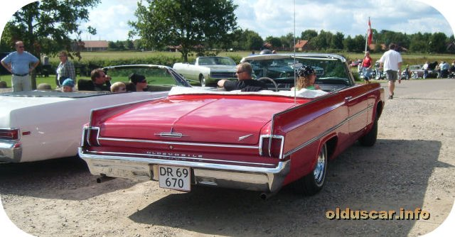1963 Oldsmobile Dynamic 88 Convertible Coupe back