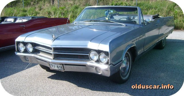 1965 Buick Electra 225 Custom Convertible Coupe front