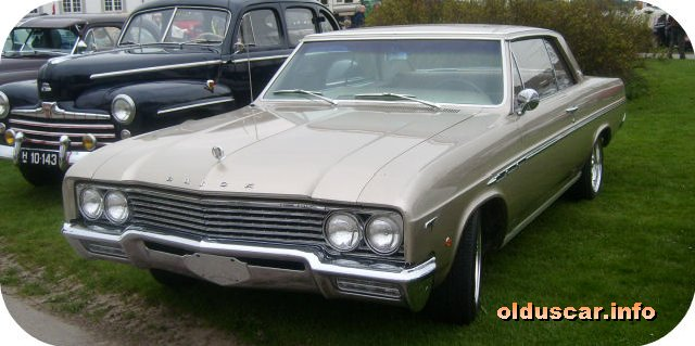 1965 Buick Skylark Hardtop Coupe front