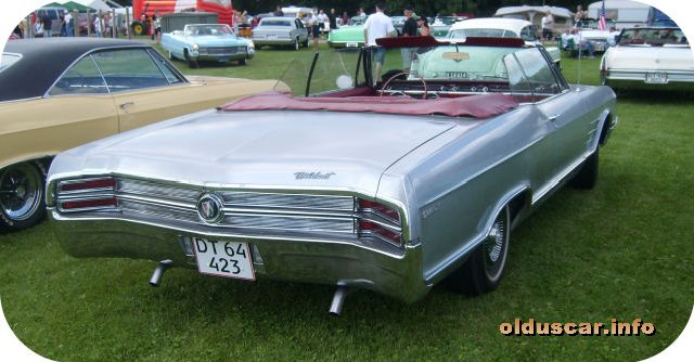 1965 Buick Wildcat DeLuxe Convertible Coupe back