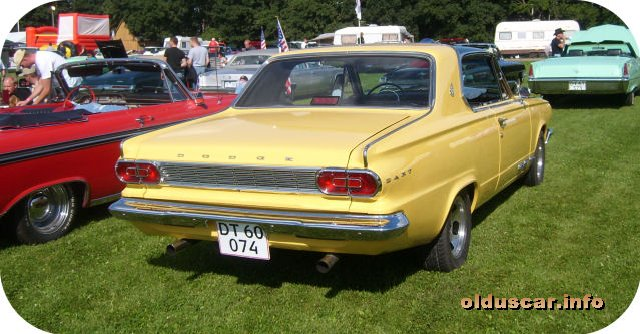 1965 Dodge Dart GT Hardtop Coupe back