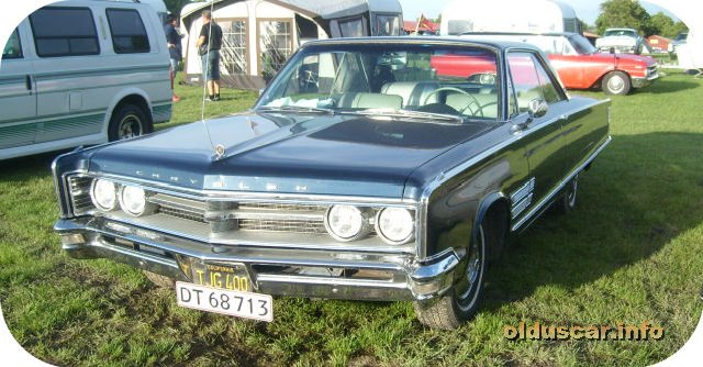 1966 Chrysler 300 Hardtop Coupe front