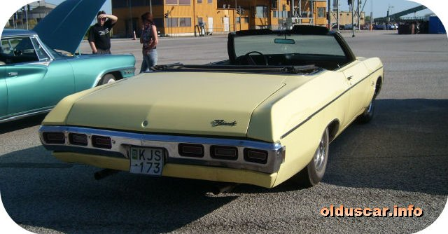 1969 Chevrolet Impala Convertible Coupe back