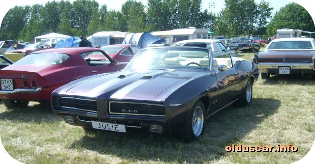 1969 Pontiac Tempest G.T.O. Ram Air Convertible Coupe front