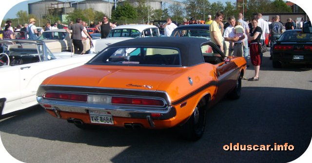 1970 Dodge Challenger RT Hardtop Coupe back
