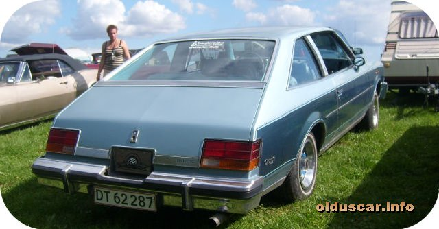1978 Buick Century Limited 2d Sedan back